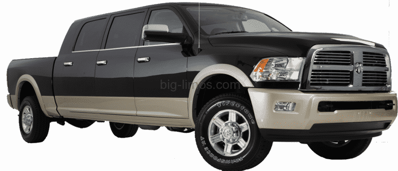 Dodge Ram Trucks >> Custom Stretched Dodge Ram Big Limos
