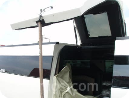 Hummer Gullwing door