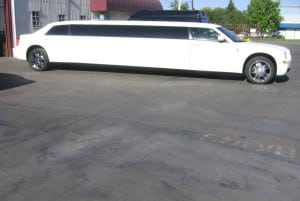 Stretch Chrysler limo