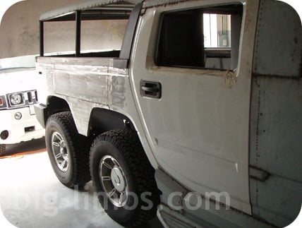 Dual axle Hummer H2 SUT stretch