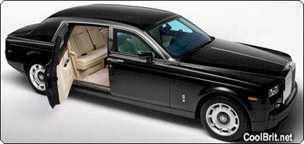 Armored Rolls Royce Phantom Big Limos