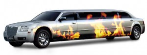 chrysler-limo-fire